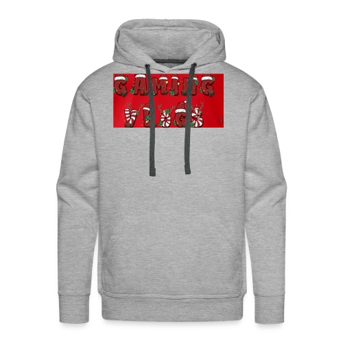 gaming vlogs chrismas merck - Men's Premium Hoodie