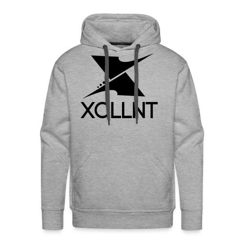 Xcllnt Logo Black - Men's Premium Hoodie