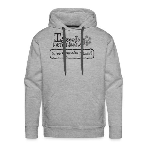 ispeakdominicano1 - Men's Premium Hoodie