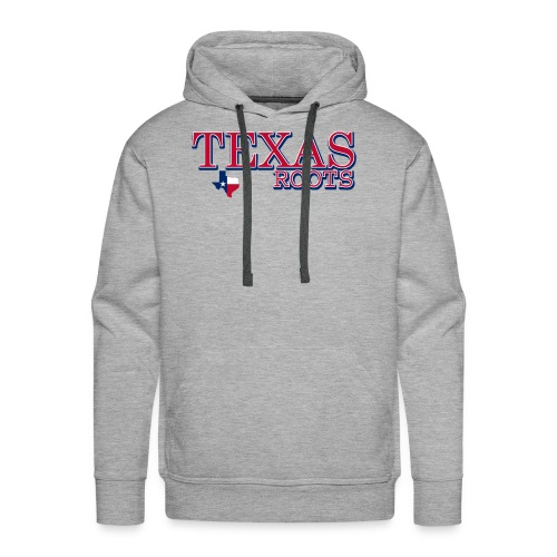 texas roots image - Men's Premium Hoodie
