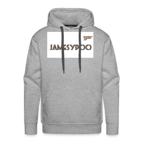 Jamesypoo logo - Men's Premium Hoodie