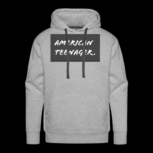 American Teenager. - Men's Premium Hoodie