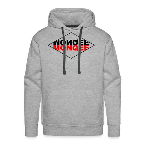 BLACK AND RED - Men's Premium Hoodie