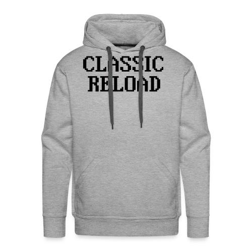 ClassicReload Classic Black - Men's Premium Hoodie