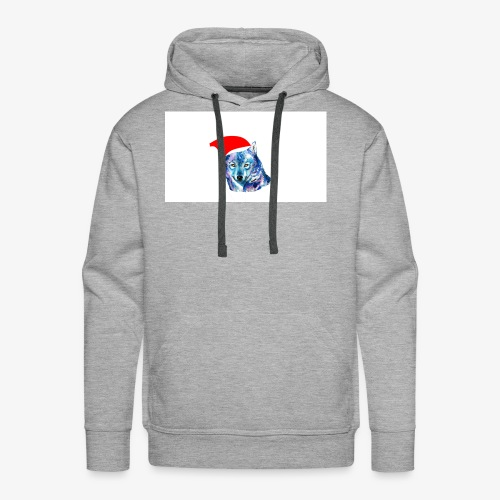wolf nation chrismas limited time only - Men's Premium Hoodie