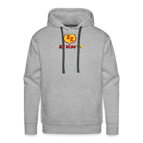 zzkidstv logo - Men's Premium Hoodie