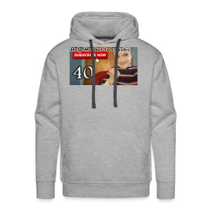 40 subs shirt - Men's Premium Hoodie