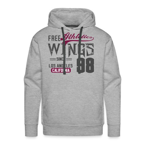 Athletics wings - Men's Premium Hoodie