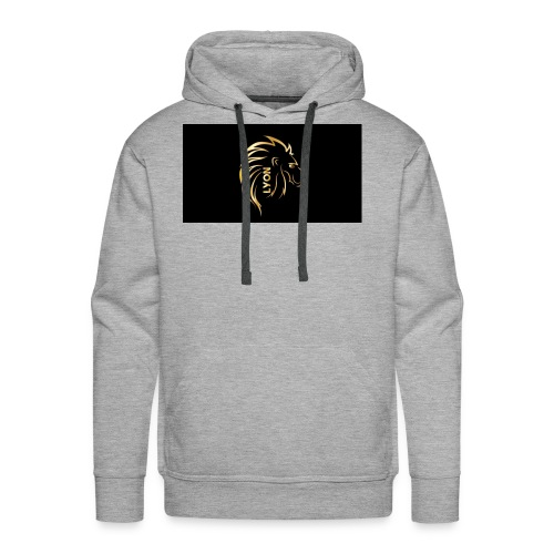 Gold and black bandana - Men's Premium Hoodie