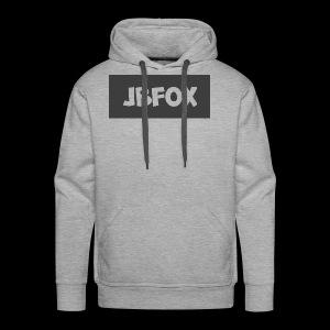 JBFox logo - Men's Premium Hoodie