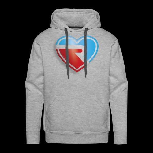 River PB Heart - Men's Premium Hoodie