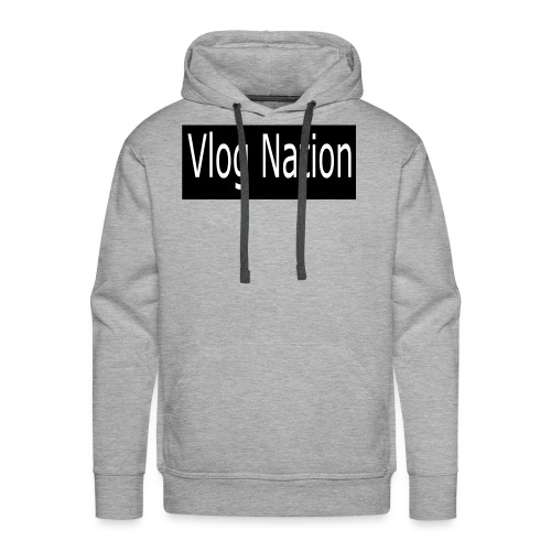 Vlog Nation - Men's Premium Hoodie