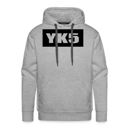 yk5shirtlogo - Men's Premium Hoodie