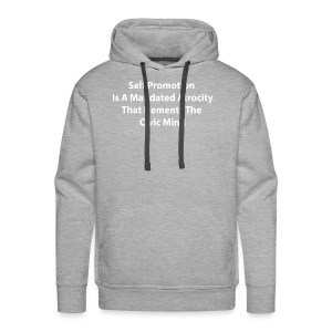 A Discourse On Self, Part 2 - Men's Premium Hoodie