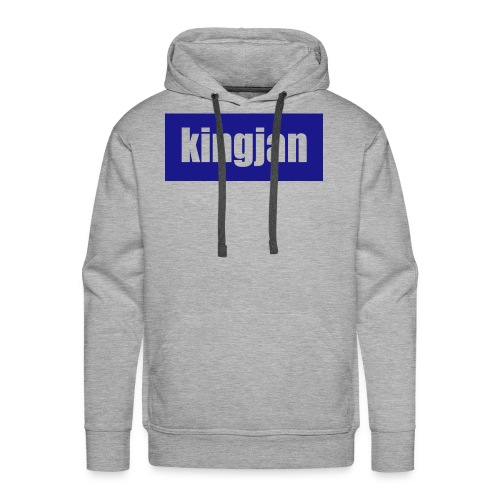 kingjan merch logo - Men's Premium Hoodie