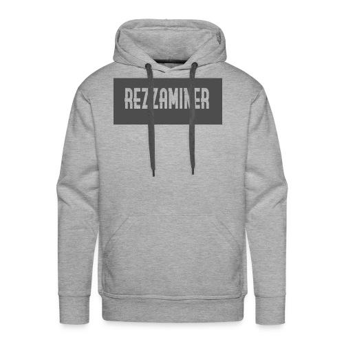 rezzaminer tshirts - Men's Premium Hoodie