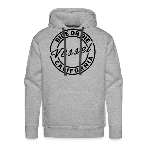 Ride or die (black) - Men's Premium Hoodie