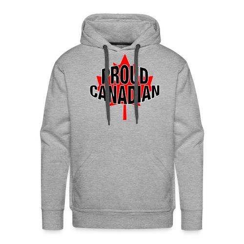 Proud Canadian - Men's Premium Hoodie