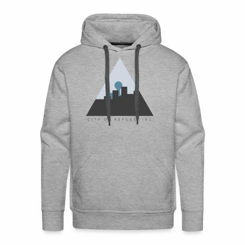 City of Refuge, Inc. Logo - Men's Premium Hoodie