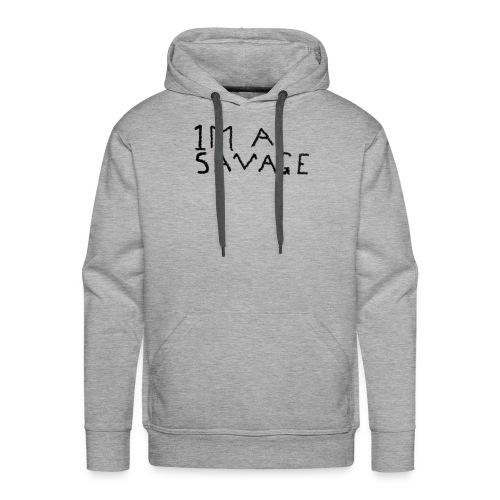 1 Million savage - Men's Premium Hoodie