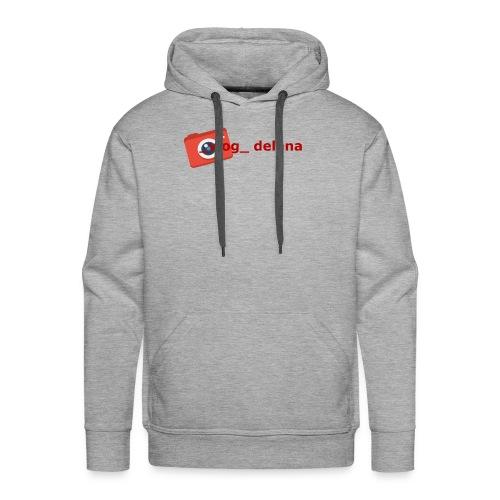 _vlog_ delana Logo Design - Men's Premium Hoodie
