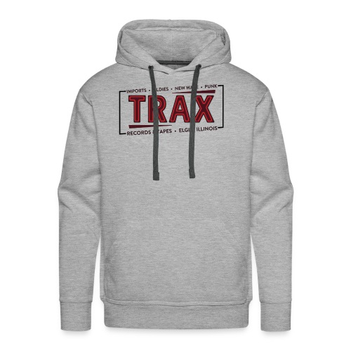 Trax Record Store -an homage to Pretty in Pink - Men's Premium Hoodie