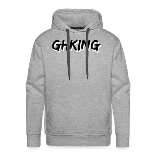 GHKing Text - Men's Premium Hoodie