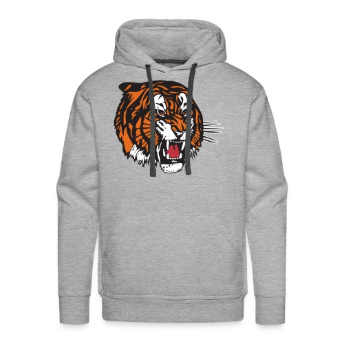 the beast tiger - Men's Premium Hoodie