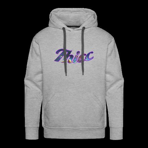 Thicc Galaxy - Men's Premium Hoodie
