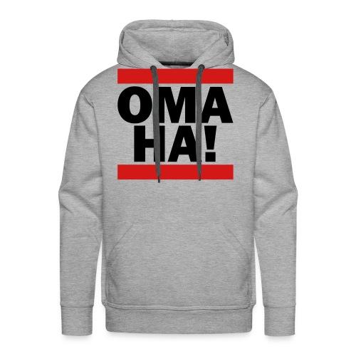 OMAHA Logo Shirt - Men's Premium Hoodie