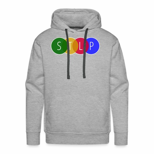 STLP Logo - Men's Premium Hoodie