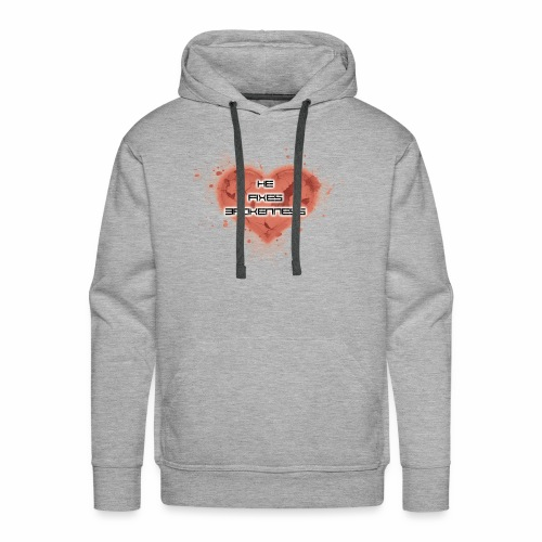 he fixes brokenness - Men's Premium Hoodie