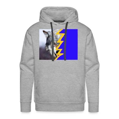wolf 2 - Men's Premium Hoodie