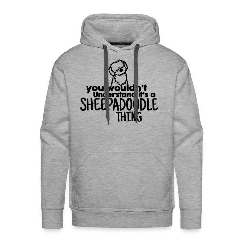 It's a Sheepadoodle Thing - Men's Premium Hoodie