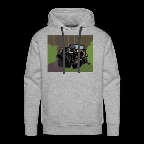 The Jalopy Rectangle - Men's Premium Hoodie