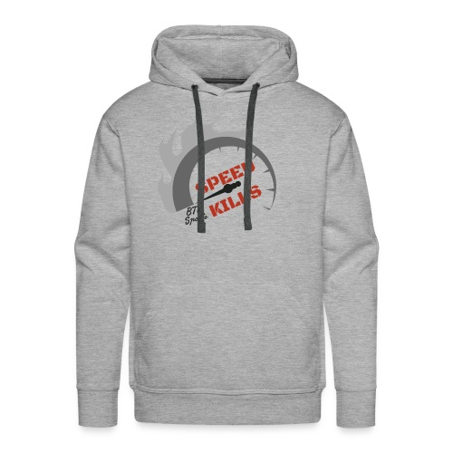 SPEED KILLS BTU - Men's Premium Hoodie