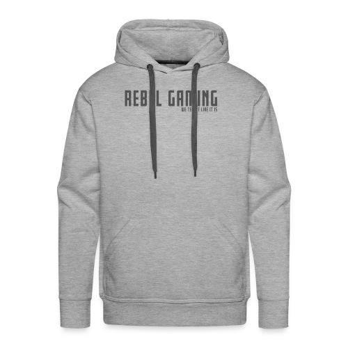 Rebel Gaming We Tell It Like It Is - Men's Premium Hoodie