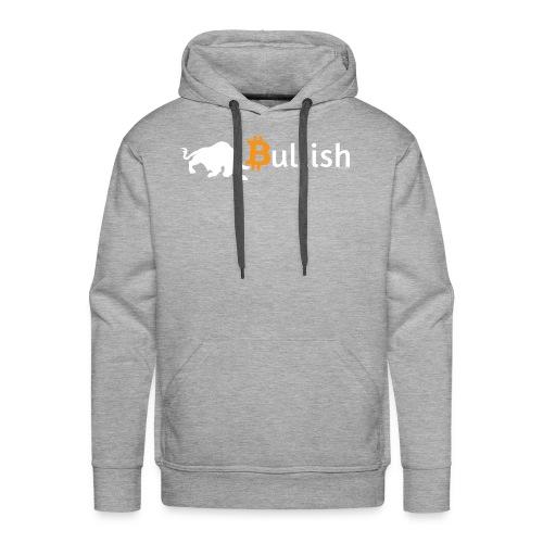 Bitcoin Bullish - Men's Premium Hoodie