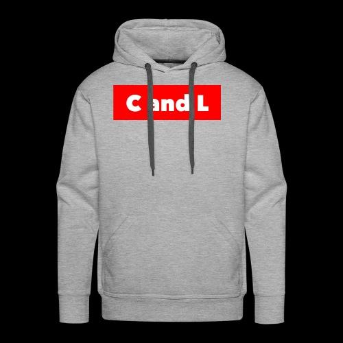 C and L Red Box - Men's Premium Hoodie