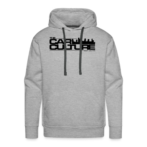 The Car Culture (black logo) - Men's Premium Hoodie