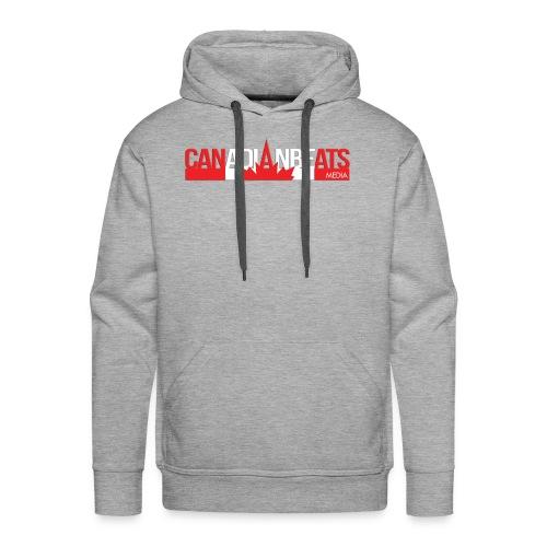 Canadian Beats Logo - Men's Premium Hoodie