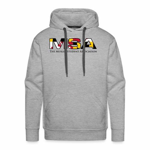 Maryland Flag MSA Logo - Men's Premium Hoodie