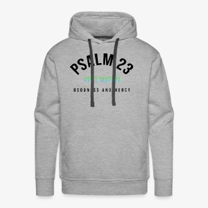 PSALM 23 CHAMPION (for white/lighter colors) - Men's Premium Hoodie