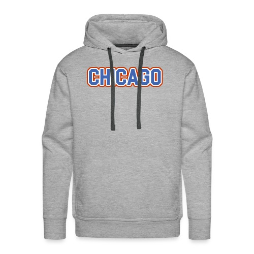 Chicago, Illinois - The Cubs - Men's Premium Hoodie