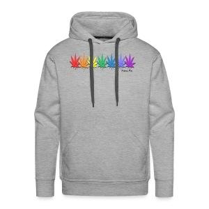 rainbow leaves - Men's Premium Hoodie