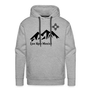 Live New Mexico logo - Men's Premium Hoodie