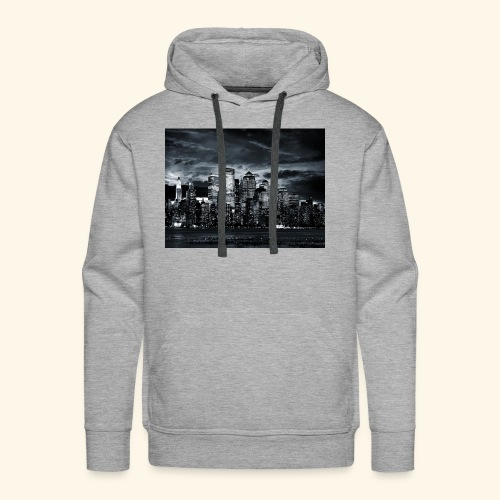 black logo 3 - Men's Premium Hoodie