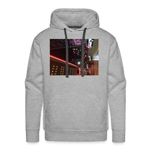 Moon Light Down Town - Men's Premium Hoodie