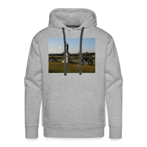 Union Artillery at Gettysburg - Men's Premium Hoodie