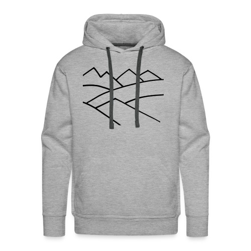 The Mountains - Men's Premium Hoodie